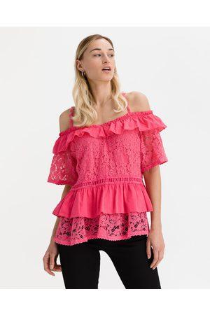 Guess Senhora Formal - New Olimpia Blouse Pink