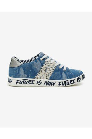 Desigual Senhora Ténis - Cosmic Sneakers Blue