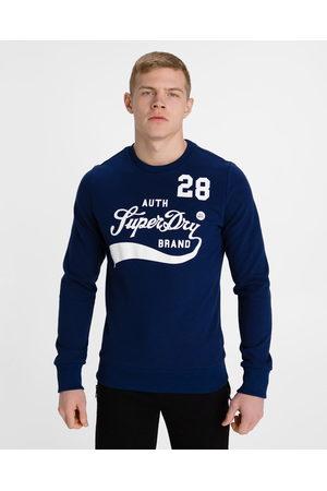 Superdry Homem Camisolas sem capuz - Collegiate Sweatshirt Blue
