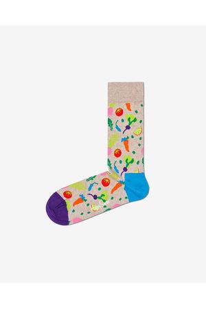 Happy Socks Veggie Socks Beige Colorful