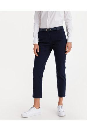 GANT Senhora Calças Chino - Fryda Classic Chino Trousers Blue