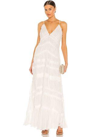 JONATHAN SIMKHAI Rosalinda Chiffon Dress in - . Size 0 (also in 2, 4, 6, 8).