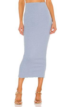 Camila Coelho Senhora Saias Midi - Logan Midi Skirt in - . Size L (also in XXS, XS, S, M, XL).