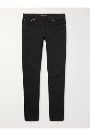 Nudie Jeans Homem Jeans - Skinny Lin Organic Stretch-Denim Jeans