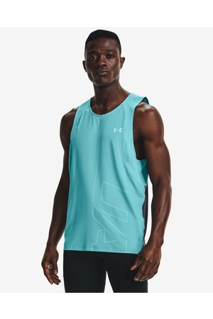 Under Armour Iso-Chill Run 200 Vent Top Blue