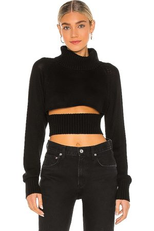 NBD Winston Cropped Turtleneck Sweater in - . Size XL (also in XS).