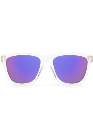 Hawkers Óculos armação transparente e lente roxa