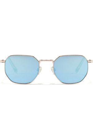 Hawkers Homem Óculos armação geométrica e lente cromada