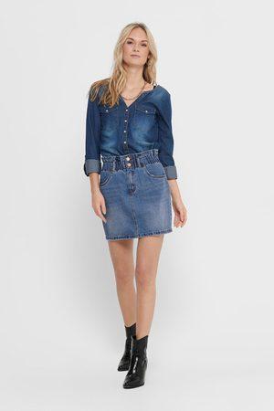 ONLY Senhora Jeans - Saia jeans
