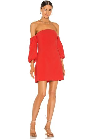 LIKELY Senhora Vestidos - Rumer Dress in - Red. Size 0 (also in 2, 4, 6, 8).