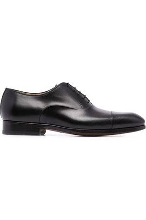 Magnanni Homem Oxford & Moccassins - Negro leather oxford shoes