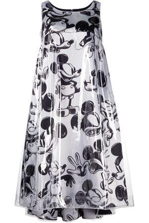 Comme des Garçons Senhora Vestidos Casual - Mickey Mouse print dress