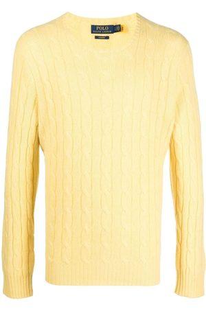 Polo Ralph Lauren Homem Camisolas - Cable knit cashmere jumper