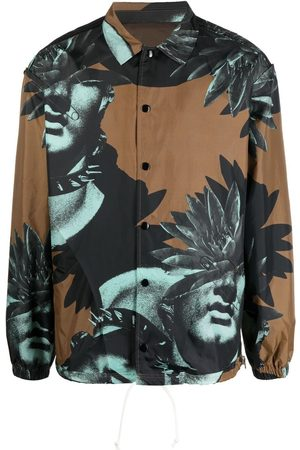 UNDERCOVER Homem Formal - Graphic-print shirt jacket