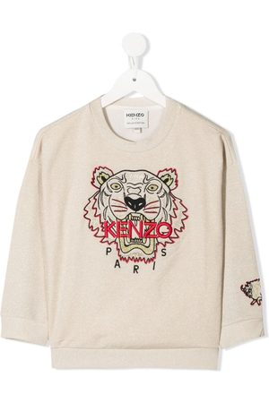 Kenzo Menina Camisolas com capuz - Tiger sweatshirt