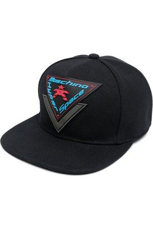 Moschino Hyper Space logo patch cap