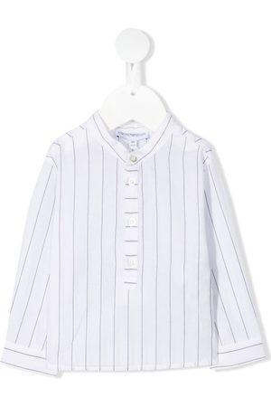 Emporio Armani Striped cotton shirt
