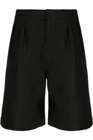 Saint Laurent Homem Calções - Knee-length tailored shorts