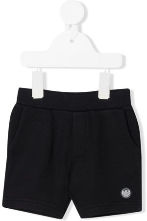 Emporio Armani Logo-patch track shorts