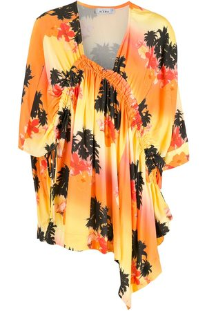 AMIR SLAMA Senhora Vestidos Casual - Printed dress