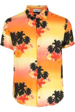 AMIR SLAMA Ilha de Hibiscus shirt