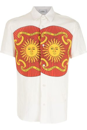 AMIR SLAMA Print Sol short sleeves shirt