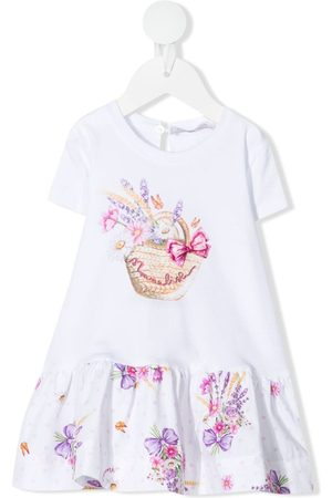 MONNALISA Bebé Vestidos Casual - Floral-print jersey dress