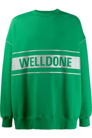 We11 Done Logo print sweatshirt