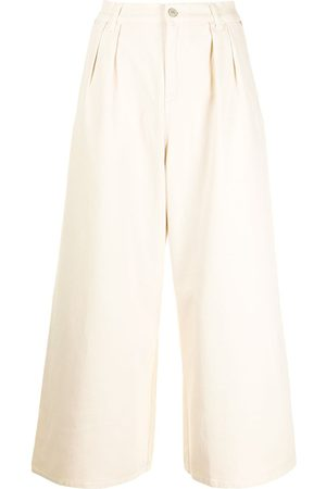 Paul Smith Wide-leg cropped jeans