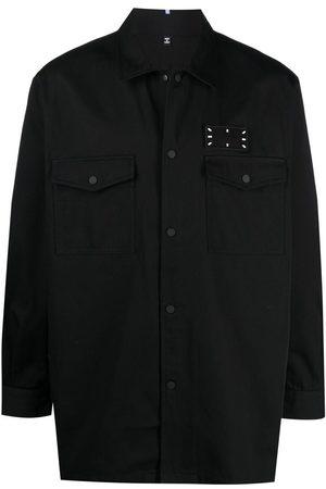 McQ Homem Formal - Stitch-print shirt jacket