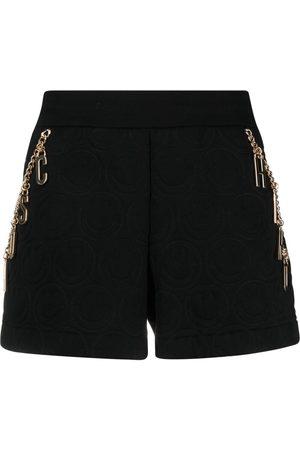 Moschino X Smiley fleece shorts