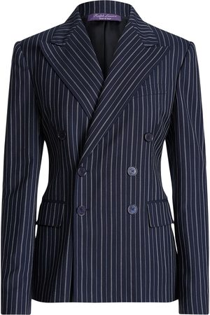 Ralph Lauren Peak-lapel double-breasted blazer