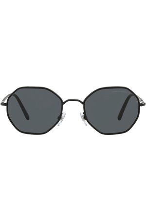 Armani Tinted round-frame sunglasses