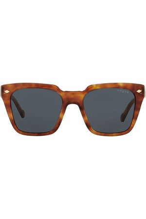 vogue Tortoiseshell-effect square-frame sunglasses