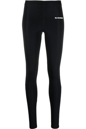 Jil Sander Logo-print leggings