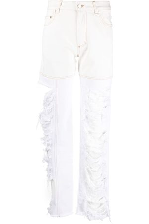 Peter Do Combo high-rise straight jeans