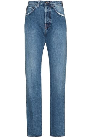 Made In Tomboy Victoria high-waisted straight-leg jeans