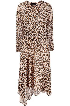Liu Jo Leopard print asymmetric dress
