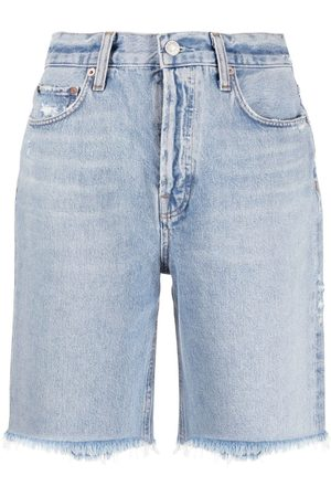 AGOLDE High-rise knee-length jeans