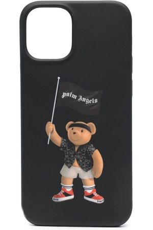 Palm Angels Homem Phones - Pirate bear iPhone 12 case