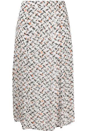 LALA BERLIN Geometric print high-waist skirt