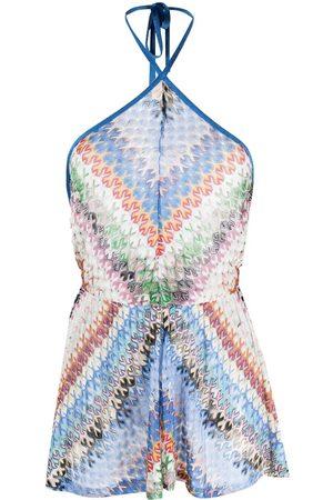Missoni Senhora Vestidos de Malha - Fine-knit playsuit