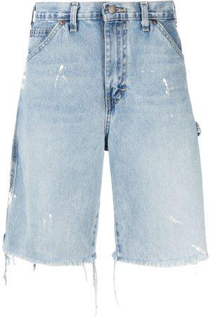 GALLERY DEPT. Distressed denim shorts