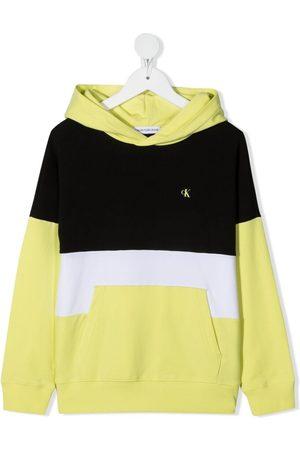 Calvin Klein Menino Camisolas com capuz - Logo-print hoodie