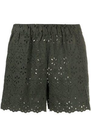 P.a.r.o.s.h. Senhora Calções - Curcuma shorts