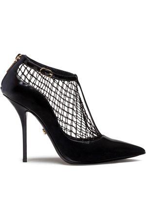 Dolce & Gabbana Net overlay pumps