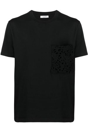 VALENTINO Logo-print cotton T-shirt