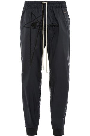 Rick Owens X Champion logo-embroidered track pants