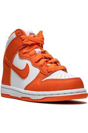 Nike Menino Ténis - Dunk High Syracuse leather sneakers