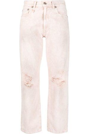 R13 Senhora Retos - High-rise straight-leg jeans